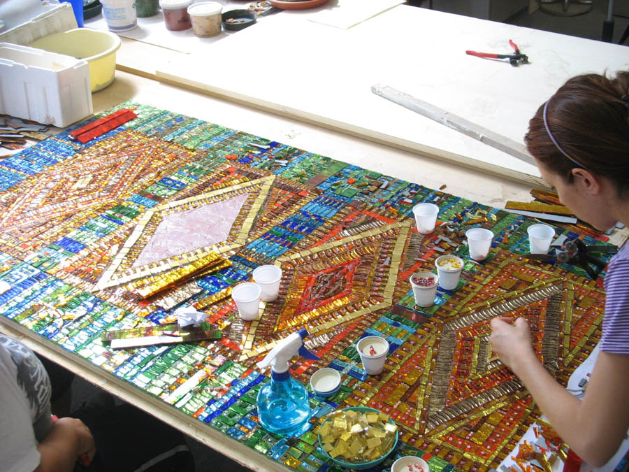 Domus aurea mosaici mosaici artistici e decorativi per for Pavimenti mosaici per interni