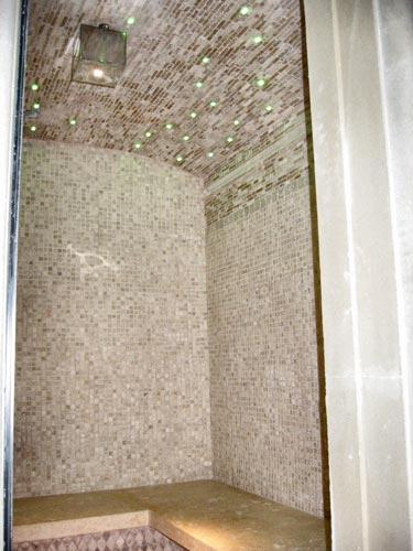 Realizzazione mosaici moderni per decorazioni rivestimenti pannelli restauro mosaici - Realizzazione bagno turco ...